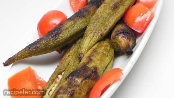 Summer's Best Grilled Okra