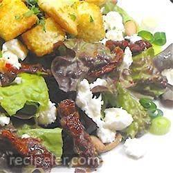 Sun-Dried Tomato, Feta and Pine Nut Salad