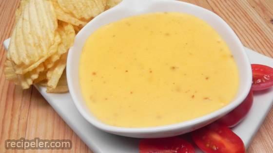Super Easy Cheese Dip