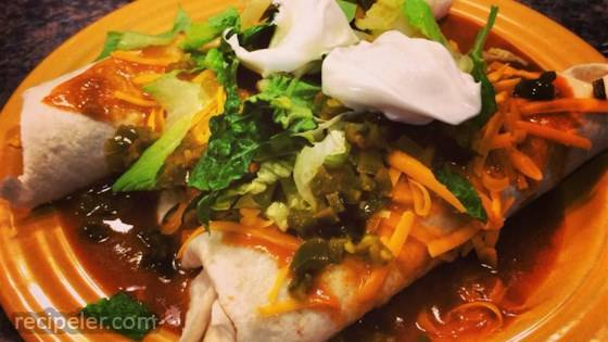 Super Easy Slow Cooker Chicken Enchilada Meat