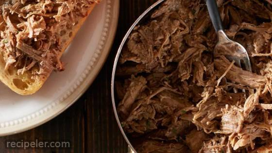 Super Easy Slow Cooker Pork