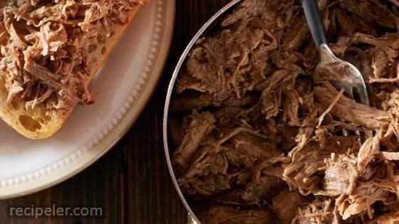 Super Easy Slow Cooker Pork