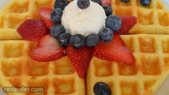 Super Sunday Waffles