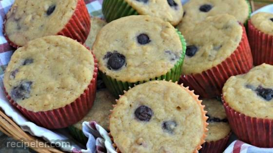 Superfood Blueberry Muffins