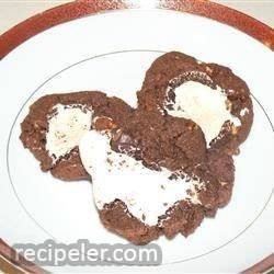Surprisingly Not-Too-Bad for You Chocolate-Marshmallow Cookies