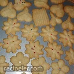 Swedish Ground Almond Spritz Cookies