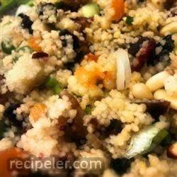 sweet and nutty moroccan couscous