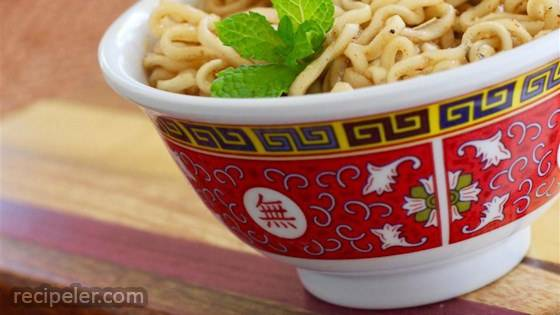 Sweet and Savory Ramen Noodles