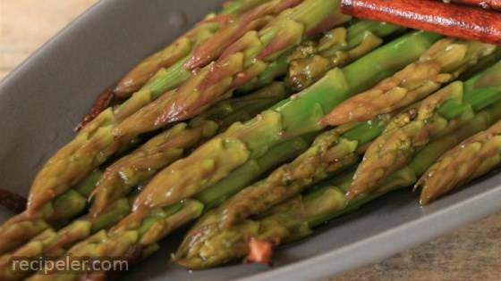 Sweet and Sour Asparagus
