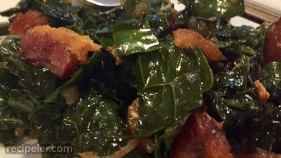 Sweet and Sour Greens