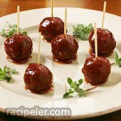 Sweet and Sour Meatballs from Heinz