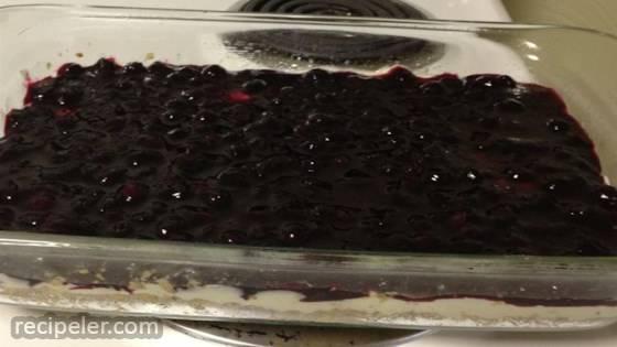 Sweet Blueberry Cream Cheese Pie