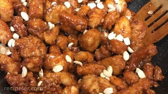Sweet Korean Crispy Chicken