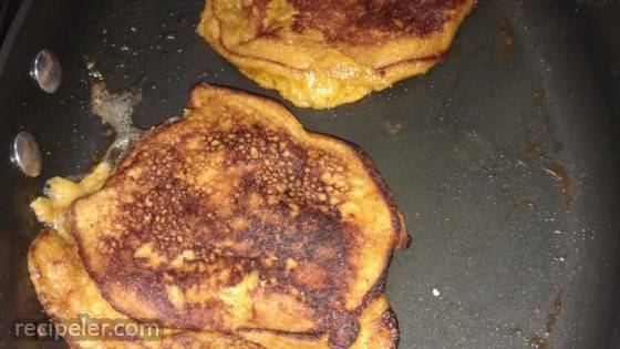 Sweet Potato Breakfast Pancakes