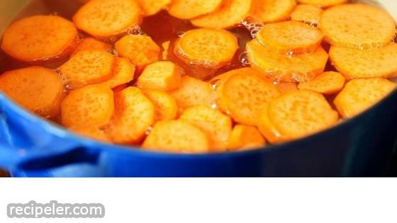 Sweet Potato Cooked in Ginger Syrup