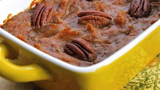 sweet potato eggnog casserole
