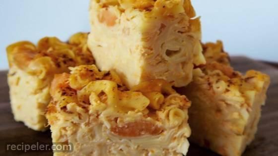 Sweet Potato Noodle Pudding (Kugel)