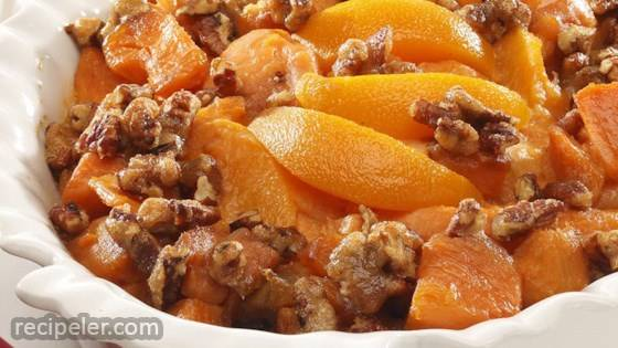 Sweet Potato Peach Bake