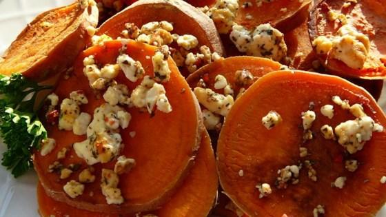 Sweet Potatoes With Feta Cheese