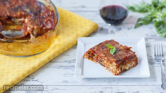 talian Baked Eggplant with Parmesan (Parmigiana di Melanzane)
