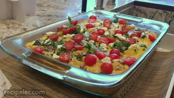 Talian Breakfast Potato Bake