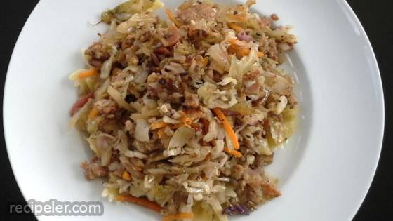 talian Cabbage Casserole