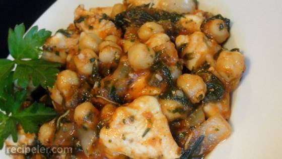 talian Chicken and Chickpeas