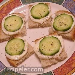 talian Cucumber Sandwiches