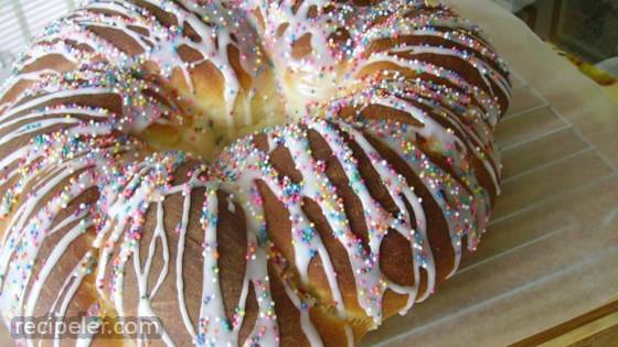 talian Easter Bread (Anise Flavored)