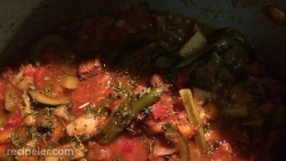 talian Lamb Stew