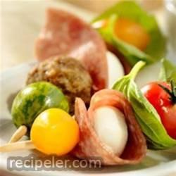 talian Salami Appetizer Kebabs
