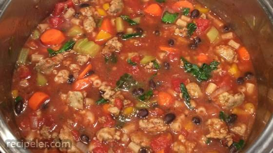 talian Sausage and Tomato Soup
