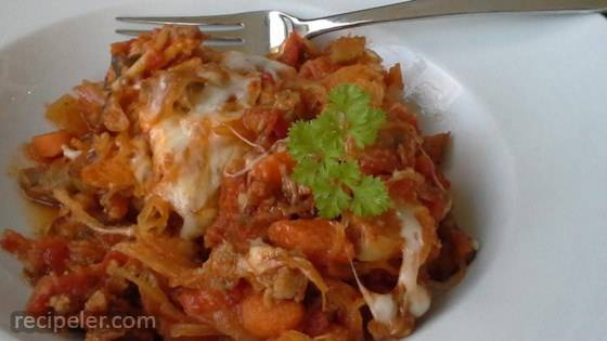talian Sausage Spaghetti Squash
