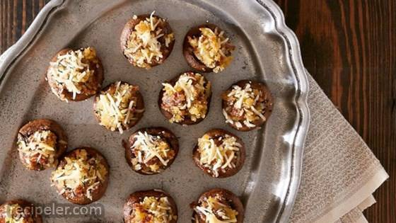 talian Sausage Stuffed Mushrooms Appetizer