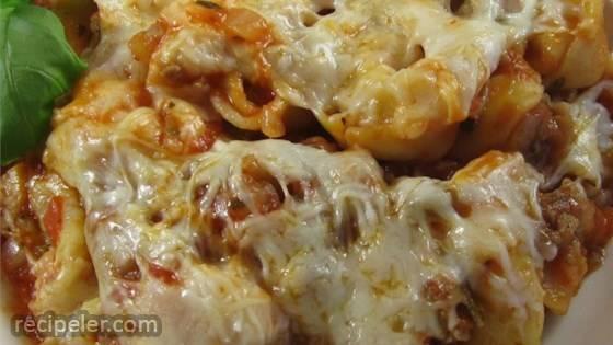 talian Sausage Tortellini Bake