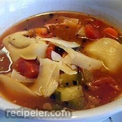 talian sausage tortellini soup