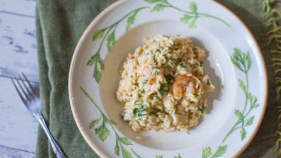 talian shrimp and scallop risotto