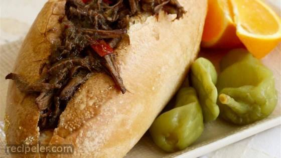 talian Style Beef Sandwiches