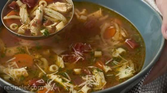 talian-Style Chicken Noodle Soup