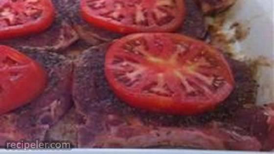 talian Twisted Balsamic Pork Chops (Gluten-Free)