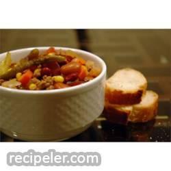 Talian Vegetable Soup