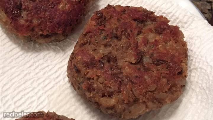 talian vegetarian patties