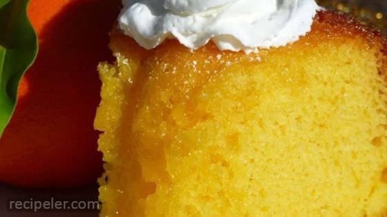 Tangerine Orange Cake