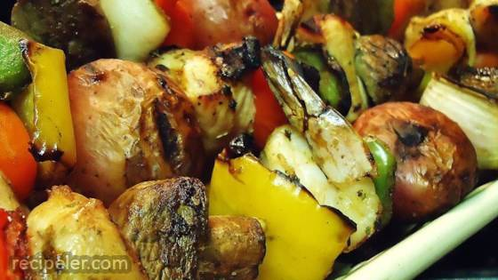 Tangy Almond Chicken Kabobs