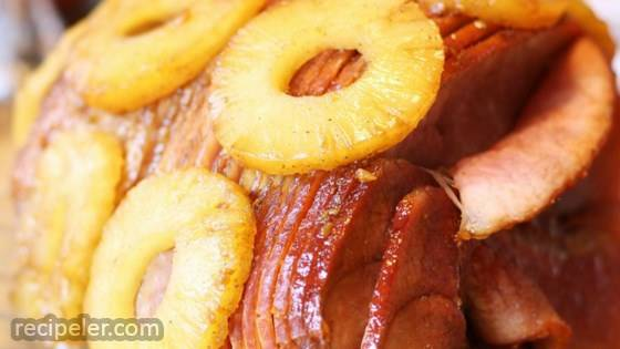 Tangy Honey Glazed Ham