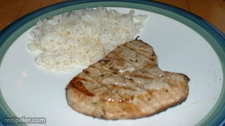 Tarragon Tuna Steaks
