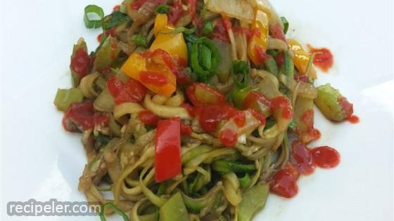 Tasty Thai Zoodles
