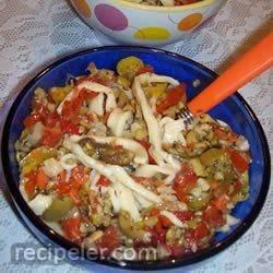 Tennille's talian Pasta Salad