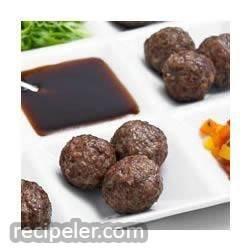 Teriyaki Meatball Appetizers