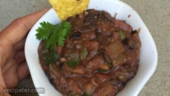 Tex Mex Black Bean Dip